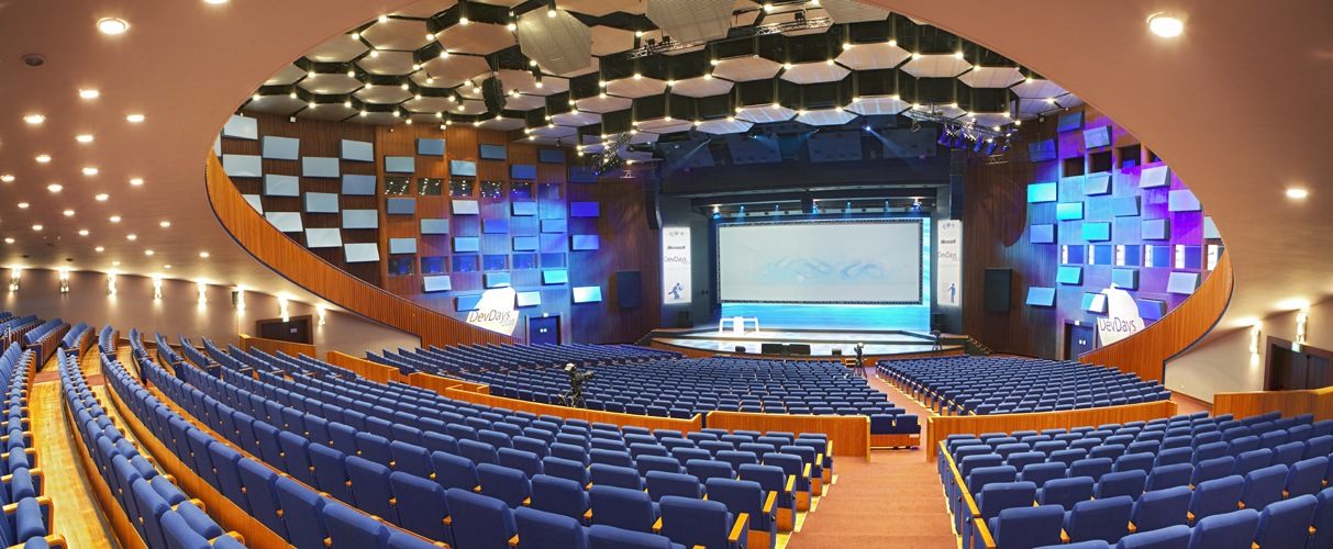 World Forum auditorium