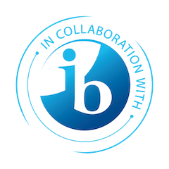 IB in collaboration with logo