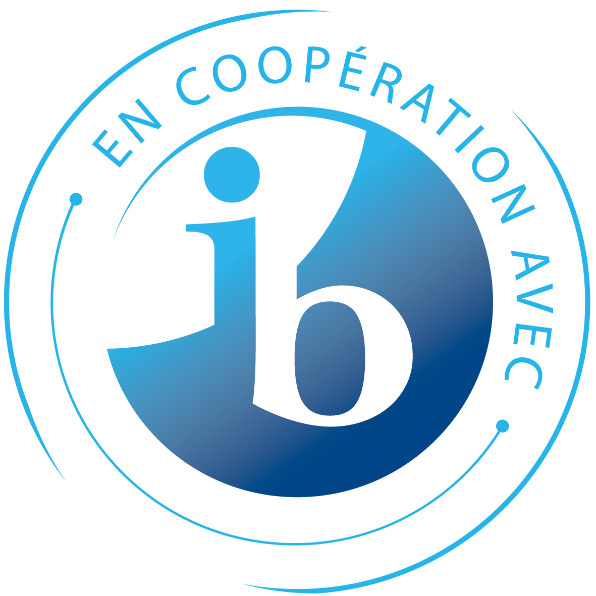 IB in cooperation with logo